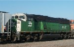 BNSF 8141, conductor's side